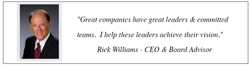Rick Williams CEO & Board Advisor